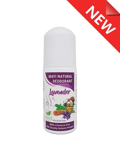 MAYI Natural Deodorant Lavender - new