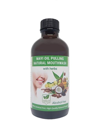MAYI Oil Pulling Natural Mouthwash